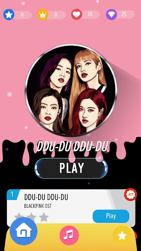 Piano Tiles : BLACKPINK Kpop ud83cudfb9 1.1 Screenshots 1