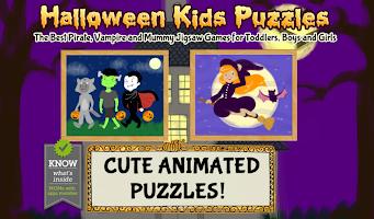 Halloween Games: Kids Puzzles
