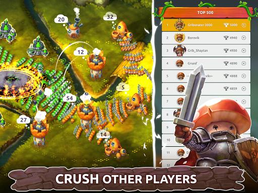 Mushroom Wars 2: Real-time war strategy ud83cudf44 Defense  screenshots 15
