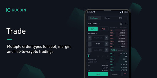 KuCoin: Bitcoin Exchange & Crypto Wallet android2mod screenshots 3
