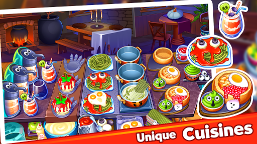 Halloween Madness : Cooking Games Food Fever apkslow screenshots 18