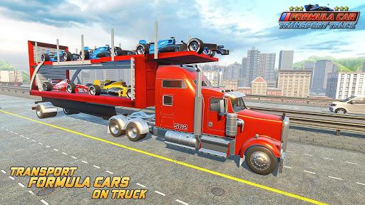 Formula Car Transport Truck: Cruise Ship Simulator 7.6.5 screenshots 6