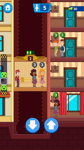 Hotel Elevator: Idle Fun Simulator Concierge mania apktram screenshots 5