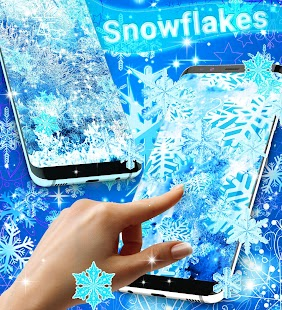 Snowflakes live wallpaper Screenshot