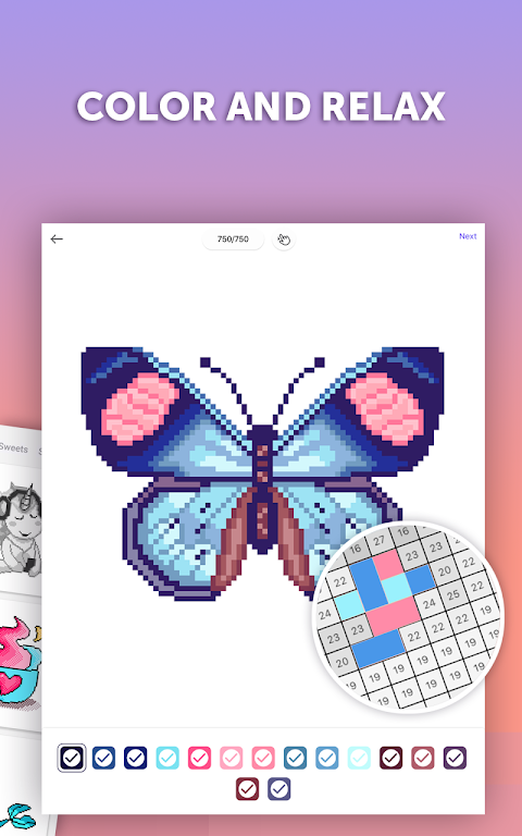 PixelArt: Color by Number, Sandbox Coloring Book  poster 20