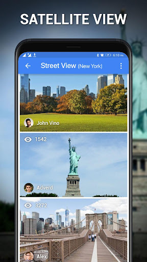 Street View - Earth Map Live, GPS & Satellite Map 1.0.9 Screenshots 2