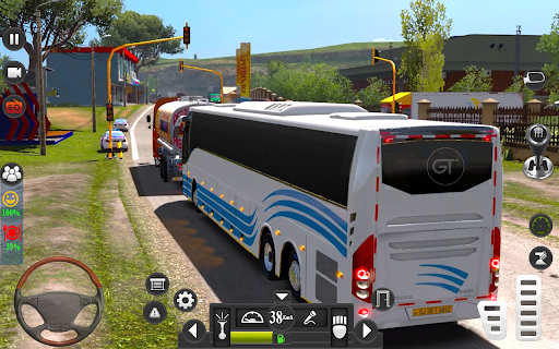 Public Coach Driving Simulator: Bus Games 3D  screenshots 3