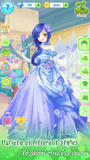 ud83dudc57ud83dudc52Garden & Dressup - Flower Princess Fairytale  Screenshots 5