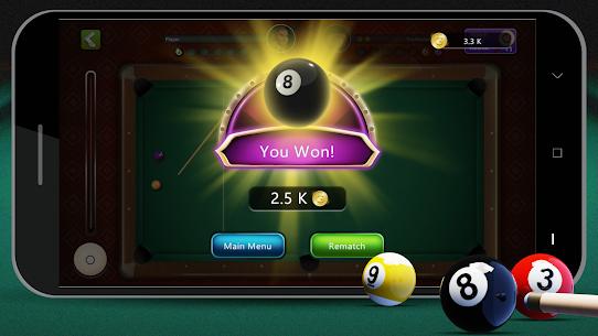 8 Ball Billiards Mod Apk 2.0.3 (Free Shopping) 8
