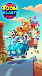 Toon Blast Mod Apk (Unlimited Moves + Unlimited Boosters) 7