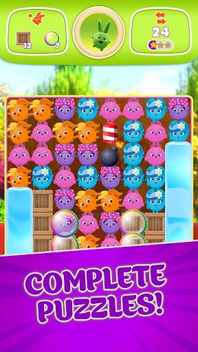 sunny bunnies: magic pop blast! screenshot 2