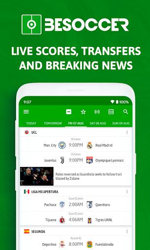 BeSoccer - Soccer Live Score 5.2.2.1 Screenshots 1