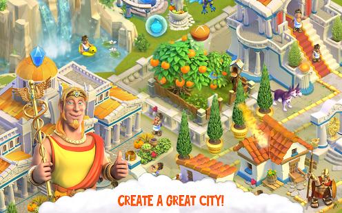 Divine Academy: God Simulator, Build your City Mod Apk