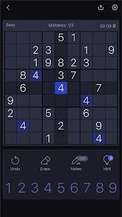 Free Sudoku – Free Sudoku Puzzle, Brain  Number Games Apk Download 2021 3