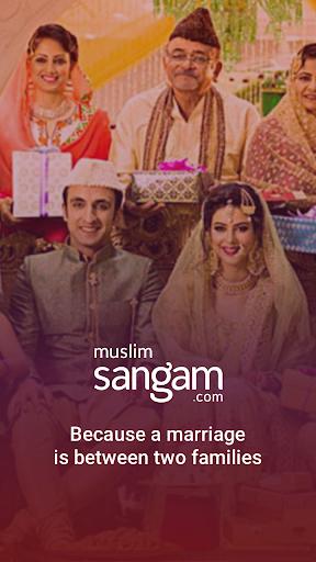 muslim matrimony & marriage app by sangam.com screenshot 1