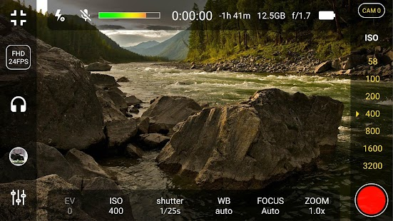 4K Camera - Filmmaker Pro Camera Movie Recorder Screenshot