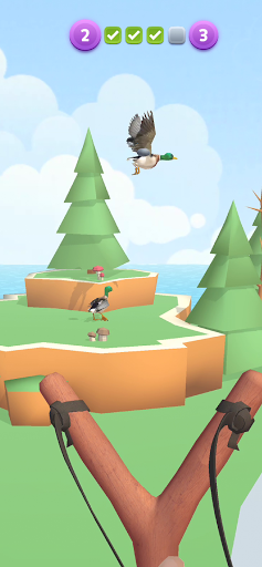 Sling Birds 3D modavailable screenshots 3