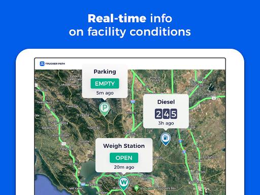 Trucker Path: Truck GPS Truck Stops Weigh Stations apktram screenshots 9