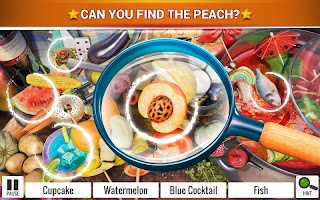 Hidden Objects Food – Kitchen Cleaning Game