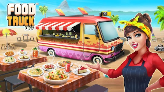 Food Truck Chef Mod Apk (Unlimited Money/Crystals) 9