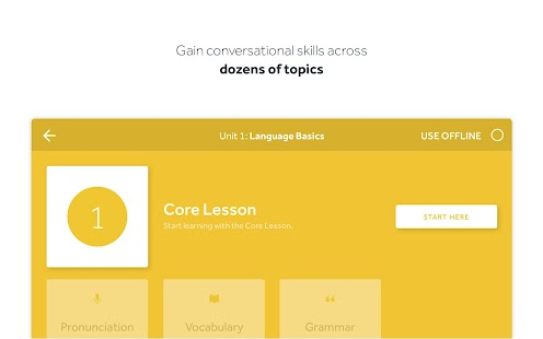 Rosetta Stone: Learn Languages Effectively Screenshot