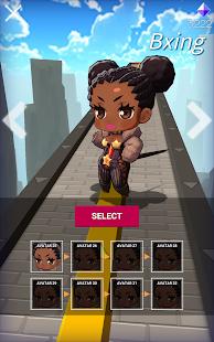Sky Girls: Flying Runner Game