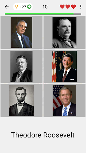 US Presidents and Vice-Presidents - History Quiz screenshots 14