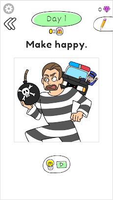 Draw Happy Prisoner-Free draw puzzle to help womanのおすすめ画像2