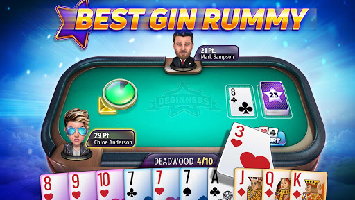 Gin Rummy Stars - Best Card Game of Rummy online! 1.9.502 screenshots 1