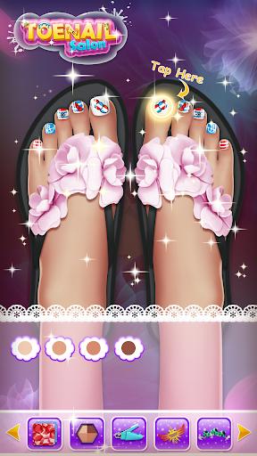 ud83dudc85Princess Nail Makeup Salon2 - Beautiful Toenail  screenshots 7