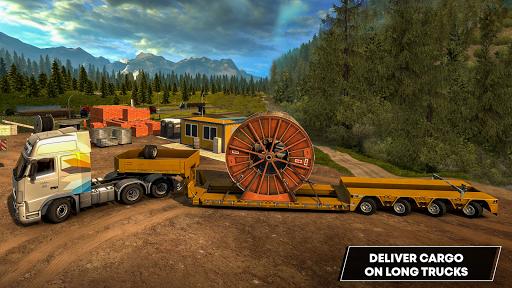 Future Truck Simulator : Hill Transport Driver  screenshots 6