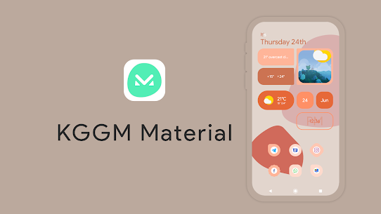 KGGM Material for KWGT Apk (Paid) for Android 6