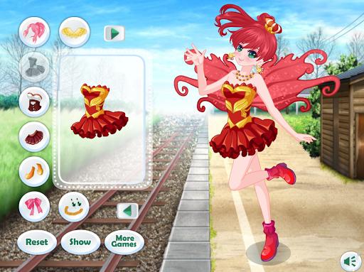 Dress Up Angel Anime Girl Game - Girls Games screenshots 2