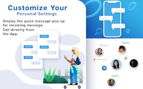 New Messenger 2021- Free Texting & Video Chat 4