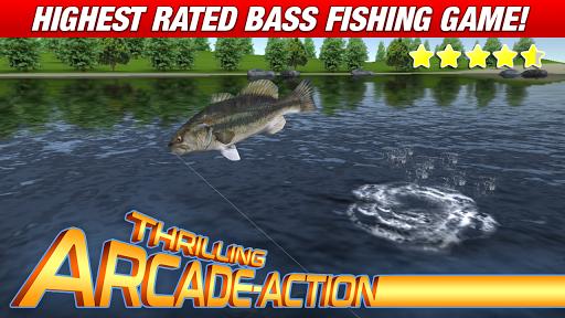 Master Bass Angler: Free Fishing Game apkmartins screenshots 1