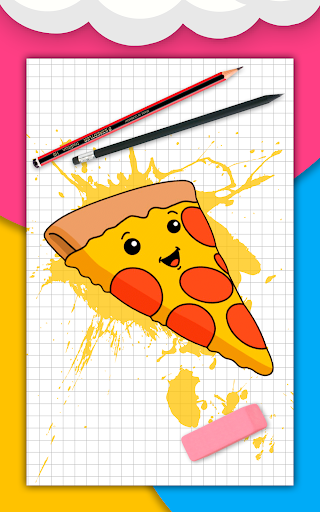 How to draw cute food, drinks step by step 1.6.2 Screenshots 9