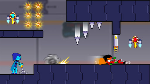 Fire and Water Stickman 2 : The Temple  screenshots 4