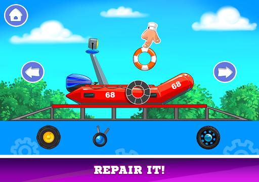 Kids Cars Games! Build a car and truck wash!  screenshots 12