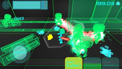 Stickman Neon Warriors: Sword Fighting screenshots 1