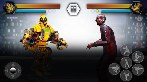 Super Robot Vs Zombies Kung Fu Fight 3D 1.10 screenshots 4