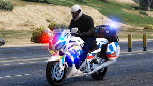 Police Moto Chase and Real Motobike Simulator 2021  screenshots 1