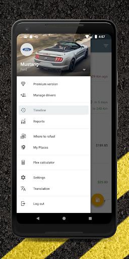Carango - Car Management and Fuel Log  screenshots 2