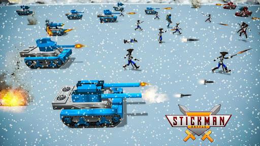stickman battle simulator - stickman warriors screenshot 2