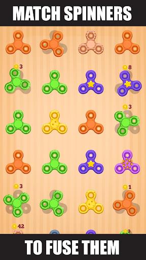 Spinner Evolution - Merge Fidget Spinners! apkdebit screenshots 1