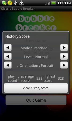 Classic Bubble Breaker(free) screenshots 4