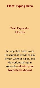 Text Expander – Typing Hero Premium MOD APK 3
