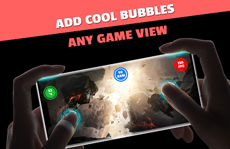 FPS Meter  Crosshair – Gamer Bubbles Apk Download 1