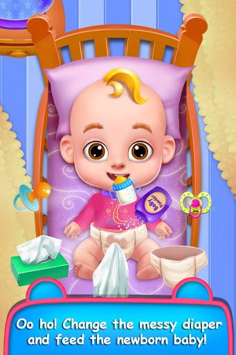 Mommy & Newborn Baby Nursery- Virtual Babysitter apktreat screenshots 2