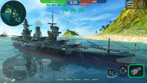 Télécharger Gratuit Warships Universe: Naval Battle APK MOD (Astuce) screenshots 1