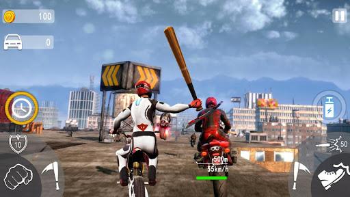 Highway Death Moto- New Bike Attack Race Game 3D  screenshots 3